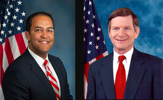 Rep. Will Hurd, Rep. Lamar Smith - WIKIMEDIA COMMONS