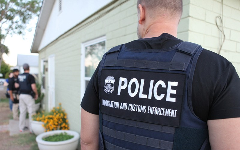 U.S. IMMIGRATION AND CUSTOMS ENFORCEMENT VIA WIKIMEDIA