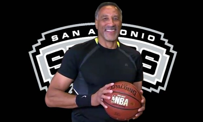 Calvin Roberts, 61, was pick 83rd overall by the San Antonio Spurs in the 1980 NBA Draft. - ABC NEWS