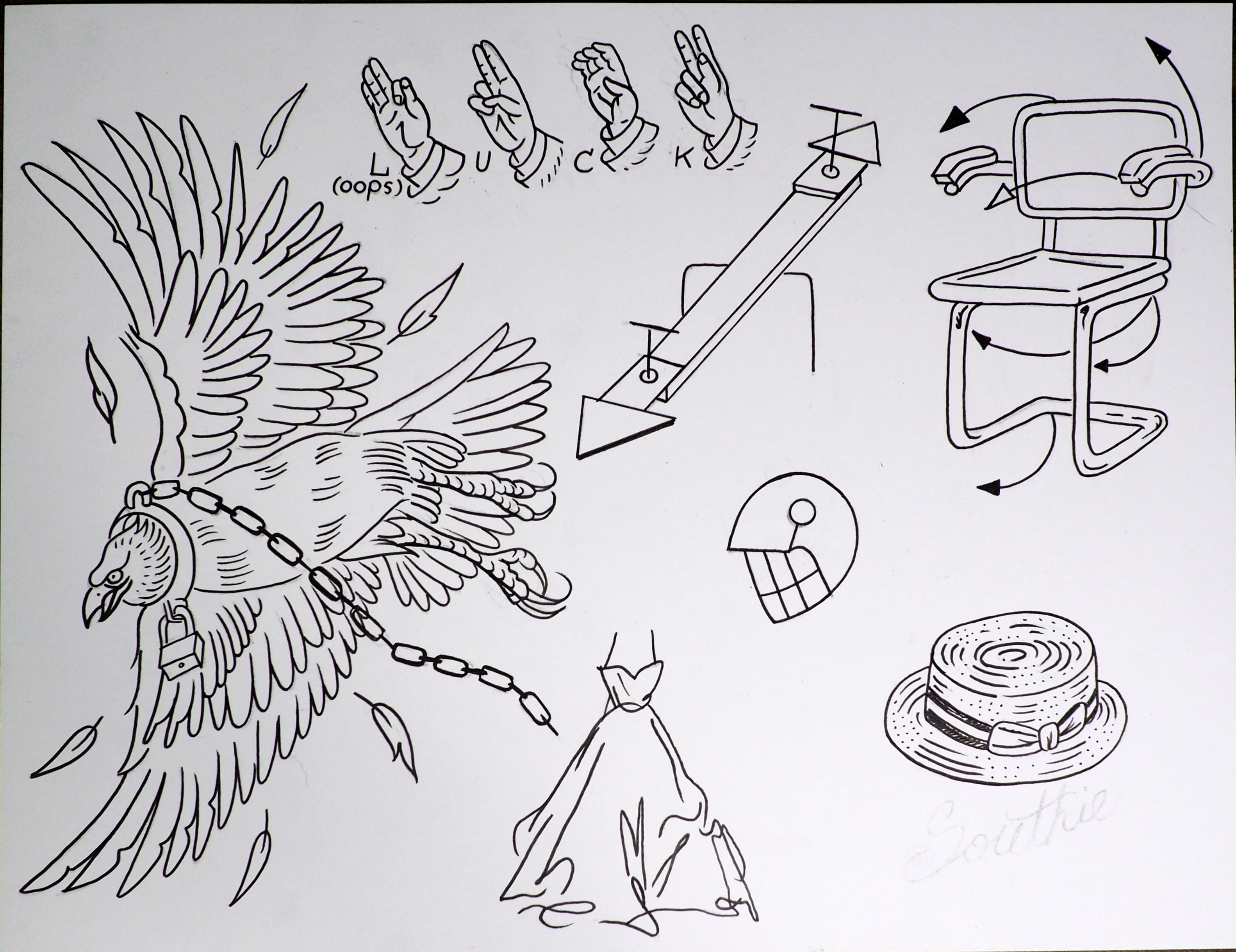 090747eed8b3e David Alcantar Blurs Boundaries Between Fine Art and Tattoo Culture ...
