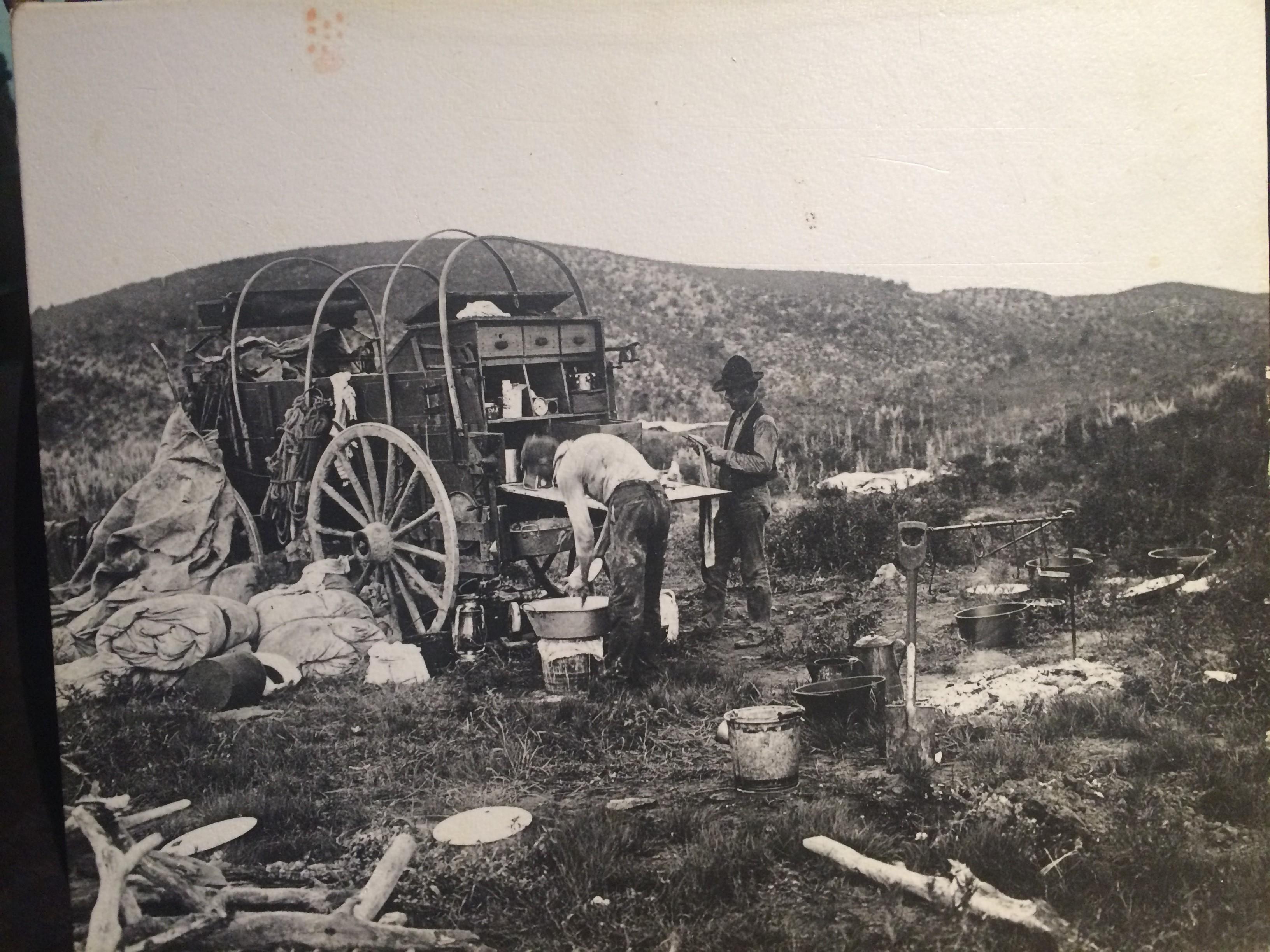 Chuck Wagon Recipes Old West Dandk Organizer