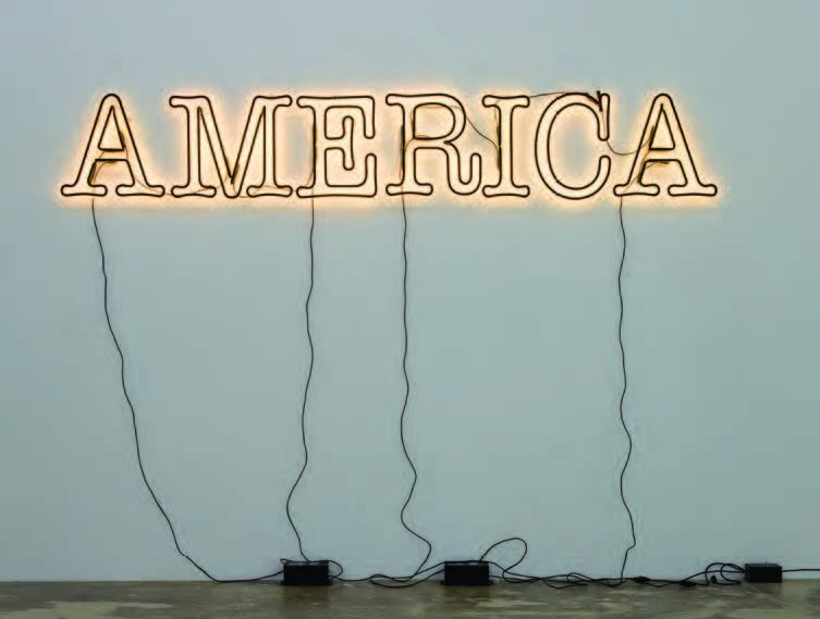 """America"" - GLENN LIGON"