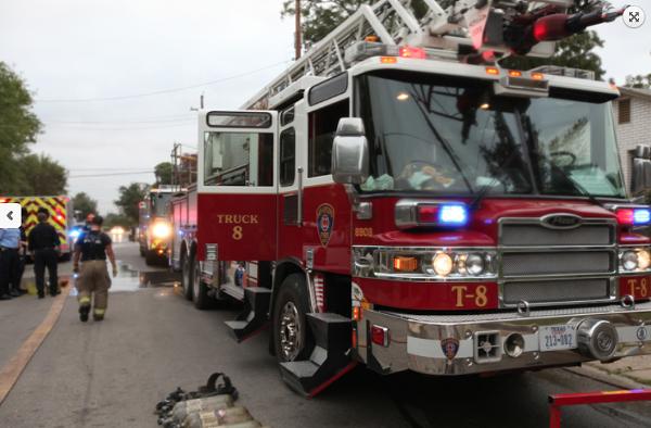 COURTESY OF THE SAN ANTONIO FIRE DEPARTMENT