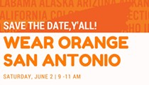 Wear Orange San Antonio: A community rally and information fair on National Gun Violence Prevention Awareness Day