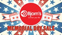 Bjorn's Memorial Day Sale & Pet Adoption Event