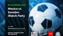 Men's International Soccer - Mexico v/s Sweden Watch Party, Young Professionals Series