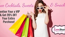 Sips & Sexy Shopping Discounts at Love Shack Boutique