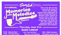 "Sam Ash Music's 3rd Annual ""Memories with Melodies"" Free Concert"