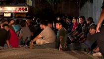 55 Undocumented Immigrants Found in Trailer in San Antonio, Sent to Detention Center