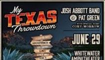 Giveaway Tickets: Josh Abbott Band & Pat Green w/ Cory Morrow!