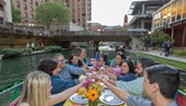 "All Aboard: Here's Your Chance to ""Drift & Dine"" Down the San Antonio River"
