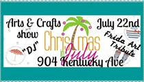 Christmas in July Arts & Crafts Market