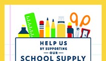 Frost Bank Summer School Supply Drive