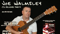 Joe Walmsley CD Release Party