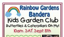 Kids Garden Club: Butterflies & Caterpillars Oh My