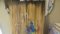 Painting Barnwood