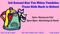 Son Tus Niños También: Trans Kids Back to School