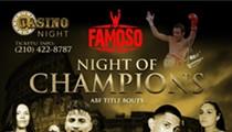Famoso's Night of Champions