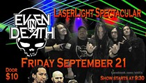 Even In Death Laser Show