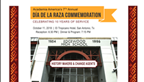 7th Annual Dia De La Raza Commemoration