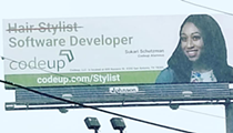 Codeup Responds to Criticism of Billboard That Online Petition Calls Discriminatory