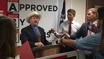 Fire Union's Chris Steele Names Surrogates at Combative Press Conference