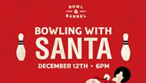 Bowling with Santa