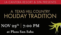La Cantera Resort & Spa Holiday Tree Lighting and Free Jazz Concert