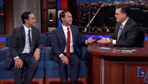 Julián Castro Said He'll Announce Next Month Whether He's Running for President. Joaquin Told Stephen Colbert He Is.