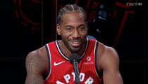 Kawhi Leonard Said the Raptors Game Against the Spurs is Going to be 'Fun'