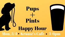 Krause's Cafe Pups & Pints Happy Hour