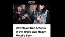 <i>Vice</i> Magazine Highlights San Antonio's Thriving '80s Metal Scene