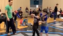 9-year-old San Antonio Girl Amazes Twitter Users After Jiu-jitsu Match Video Goes Viral