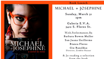 Book Launch: Michael + Josephine, a novel in verse