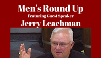 Men's Round Up at Krause's Cafe