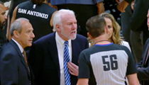 Gregg Popovich Was Ejected 63 Seconds Into Spurs Game Last Night, One of the Quickest in NBA History