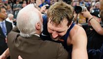 San Antonio Spurs Honored Dallas Maverick Dirk Nowitzki Last Night Following His Retirement Announcement