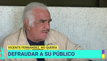 Vicente Fernández Reveals He Refused a Liver Transplant, Was Concerned His Donor Could Be Gay