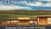 Bellissimo Boerne Wine and Dinner Events featuring Col di Lamo Winery