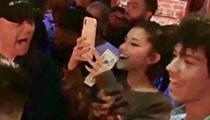 Ariana Grande Spotted at Heat Nightclub Last Night