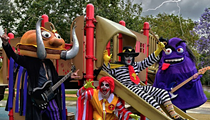 Get Your Fix of Gimmicky Heavy Metal at Mac Sabbath, Okilly Dokilly's San Antonio Show