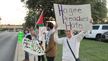 Protesters Gather Outside John Hagee's Cornerstone Church to Decry His 'Extremist Message' on Israel