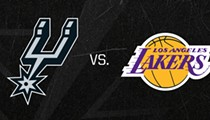 Spurs Taking on the Los Angeles Lakers at the AT&T Center