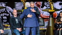 Photos: Spurs Fans, Former Teammates Pay Tribute to Tony Parker at Jersey Retirement Ceremony