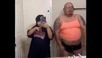 San Antonio Father, Daughter Go Viral for Their Version of Flip the Switch Challenge