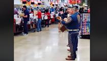 Mariachis Play at San Antonio-Area H-E-B While Shoppers Stock Up for Coronavirus Self-Quarantine