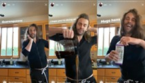 <i>Queer Eye</i>'s Jonathan Van Ness Spotted Using H-E-B and Central Market Coffee Creamer