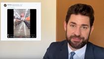 John Krasinski Shouts Out H-E-B Employees on His <i>Some Good News</i> YouTube Show
