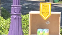 Local Artist Ethel Shipton Combats Food Insecurity in San Antonio with 'For the Taking' Boxes