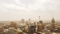 San Antonio Photographer Captures Dust Plume as it Engulfs the Downtown Skyline